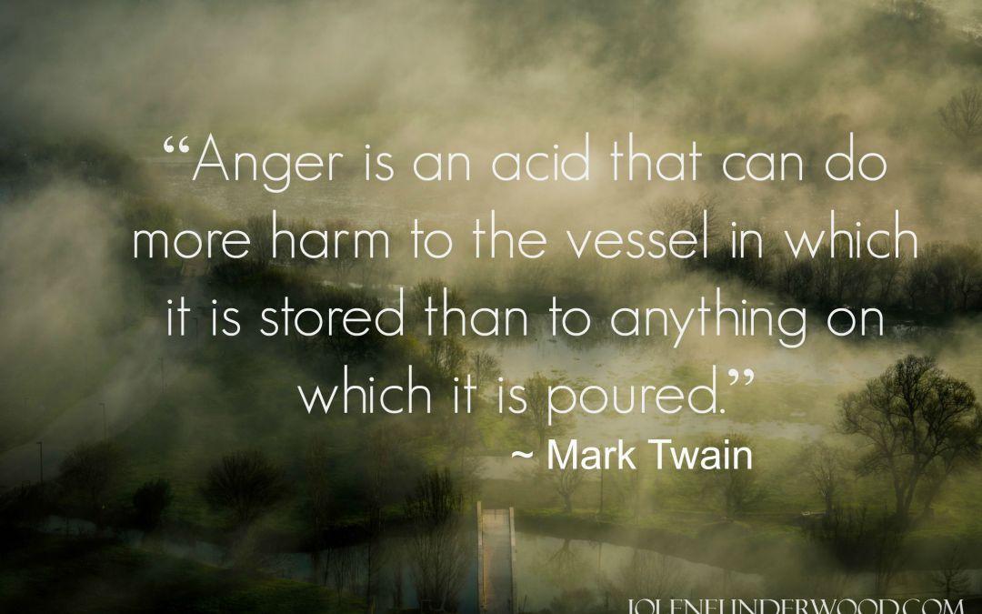 Where Anger Stirs