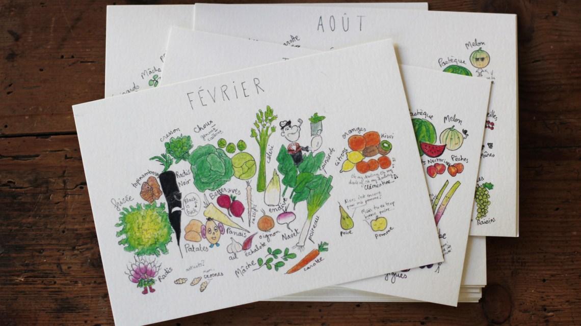 Calendrier des fruits et légumes