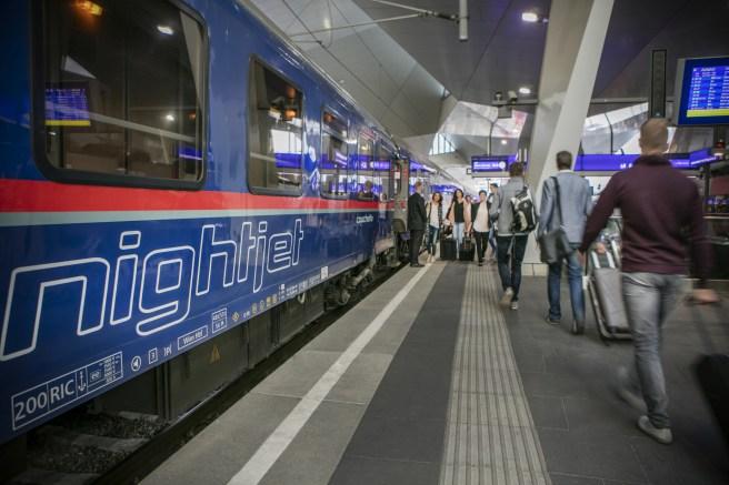 Nightjet, le train de nuit de l'OBB qui reliera Vienne à Bruxelles notamment