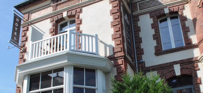 La maison d'Emilie, à Houlgate ©Joli.Voyage