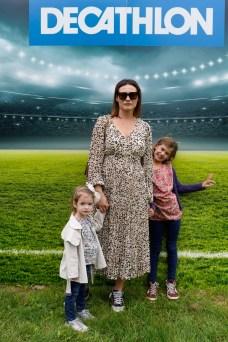 Kristina Bradac s kcerkom Vivien i prijateljicom