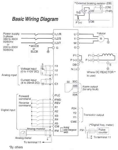 Vfd Wiring Diagram : wiring, diagram, Saftronics, Basic, Wiring, Diagram