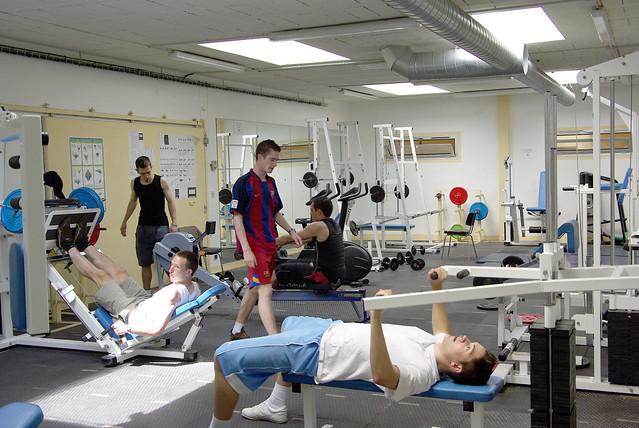 Photo d'une séance de sport de l'association Vie en Forme