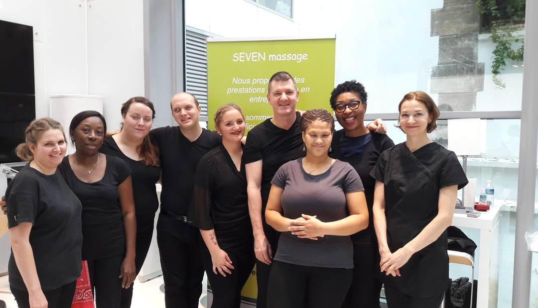 L'équipe Seven Massage