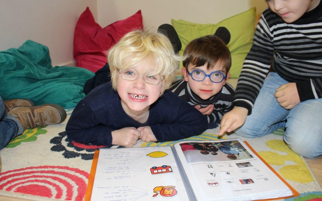 Photo d'enfants de l'association Bulle d'Air