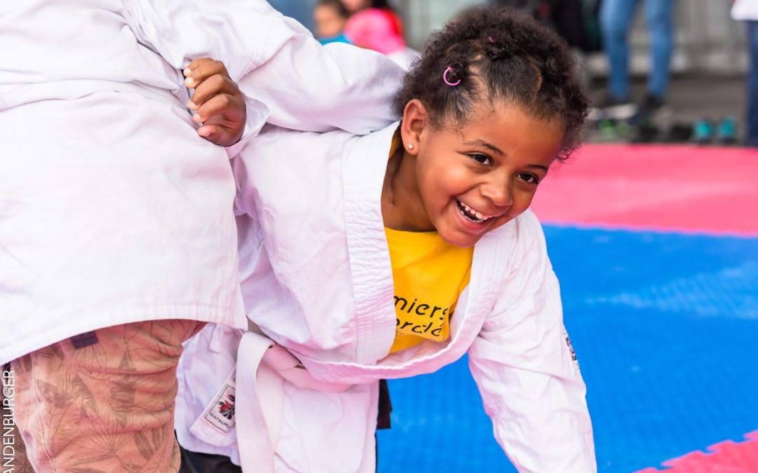 Premiers de Cordée fait du judo