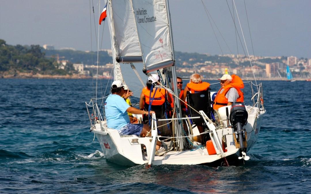 Cannes Jeunesse fait une sortie en mer