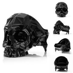 Black Skull Chair Wedding Covers Hire Glasgow La Armchair - Un Fauteuil Austère En Forme De Crâne Joli Design