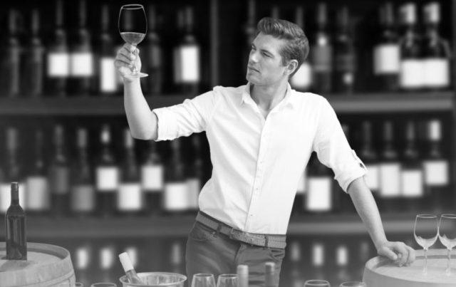 ワイングラスの持ち方