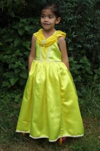 Une robe de princesse qui cache des trésors d'ingéniosité