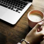 ecriture d'un blog sur un portable