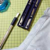 kit de lames pour ouvrir une boutonnière