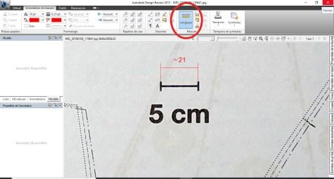 Autodesk outil mesure