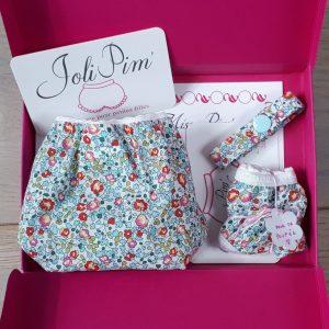 PimBox sa premiere culotte Eloise turquoise JoliPim'
