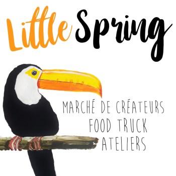 ou nous trouver : Marché de créateurs Little Spring à Mornant 19 mai 2019