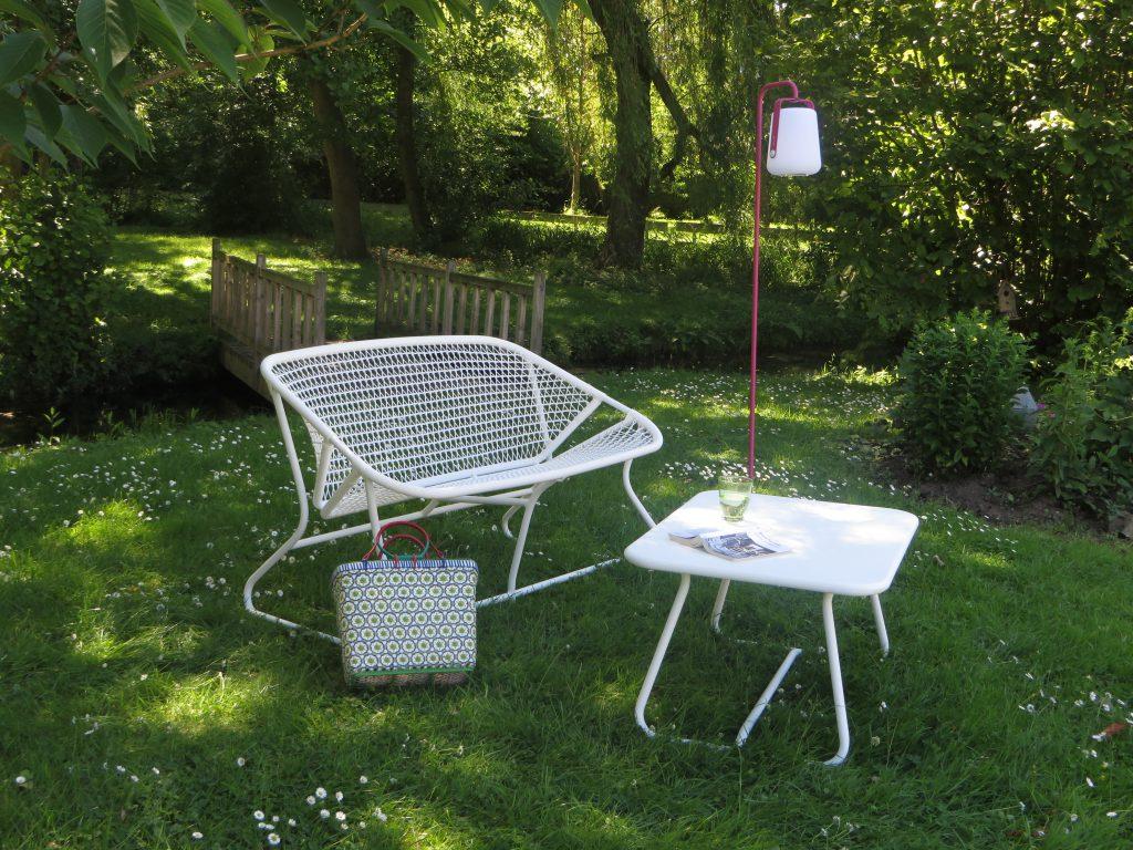 Salon De Jardin Fermob Montmartre | Salon De Jardin Bas 6 Personnes ...