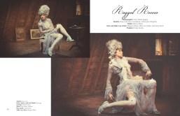 Salyse magazine May 2015, Ragged Rococo - in Jolita Jewellery's crystal bracelet