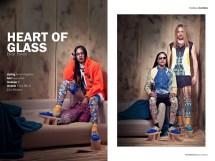 Heart Of Glass editorial in Jolita pieces