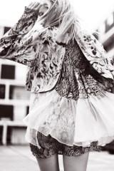 Bricks Magazine, November 2014 - in pearl and coral headband by Jolita Jewellery