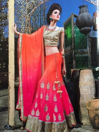 Asiana Weddings - summer 2015 issue, braided silk necklace by Jolita Jewellery