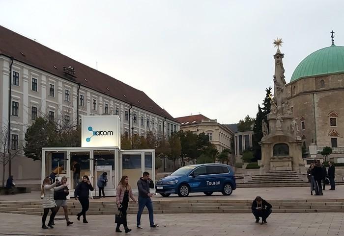 A Roszatom Pécs főterén