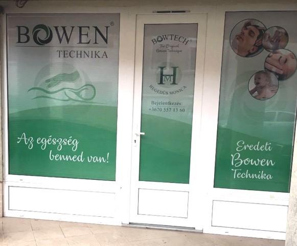 Bowen terápia - bejárat