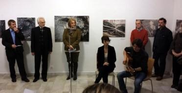 Hang, kép, zene - szóval egy kiállítás megnyitója