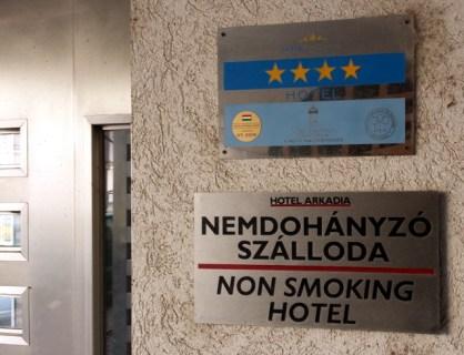 Négy csillagos, nem dohányzó szálloda