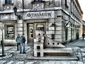 Antikvárium, Pécs, Jókai tér