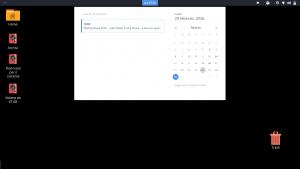 Pannello notifiche di GNOME