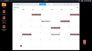 GNOME Calendario