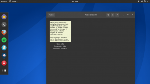 GNOME Note