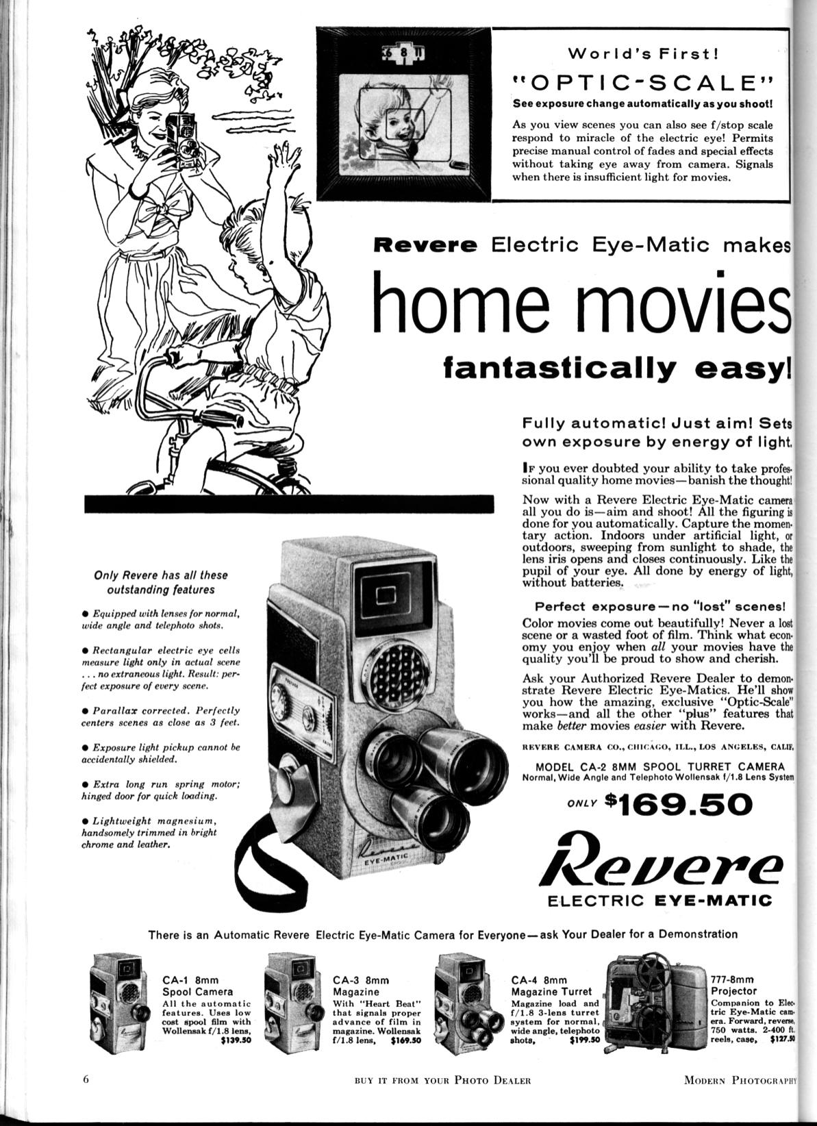 James's Camera Collection: Movie Cameras