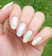 easter bunny nail art jolene
