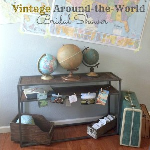 VIntage Around the world BS