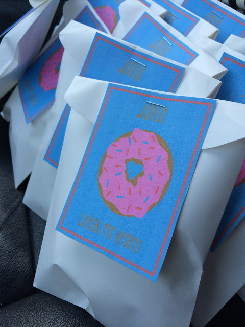 Donut Valentines Printable