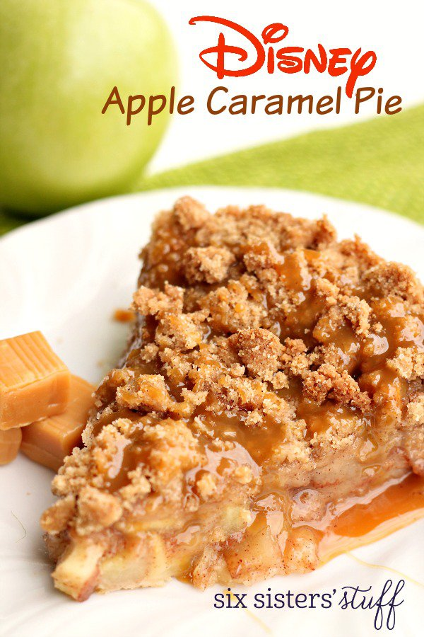 Disney-Apple-Caramel-Pie