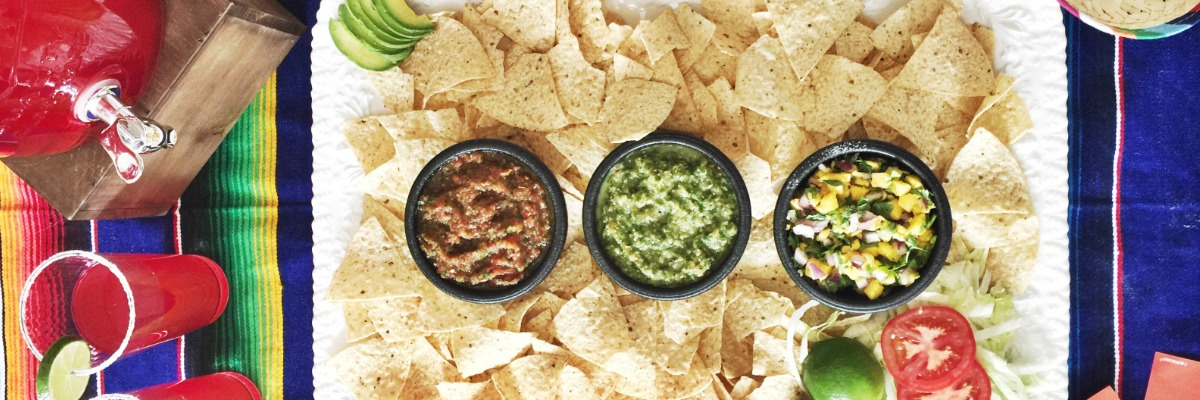 An Easy Salsa Recipe Three Ways for a Cinco de Mayo Fiesta