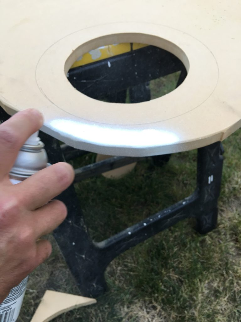 DIY Tabletop Art Palette