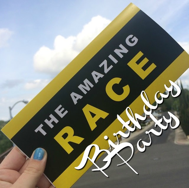 amazing race words image
