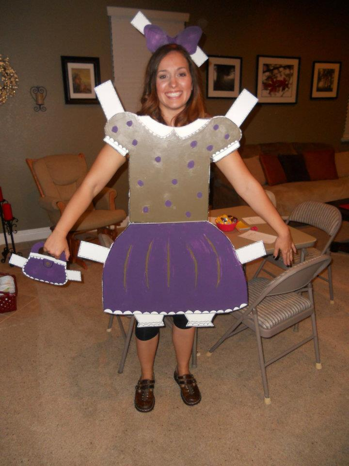 Paper doll Costume Jolly and Happy