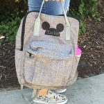 Personalized Mickey Ears Diaper Bag