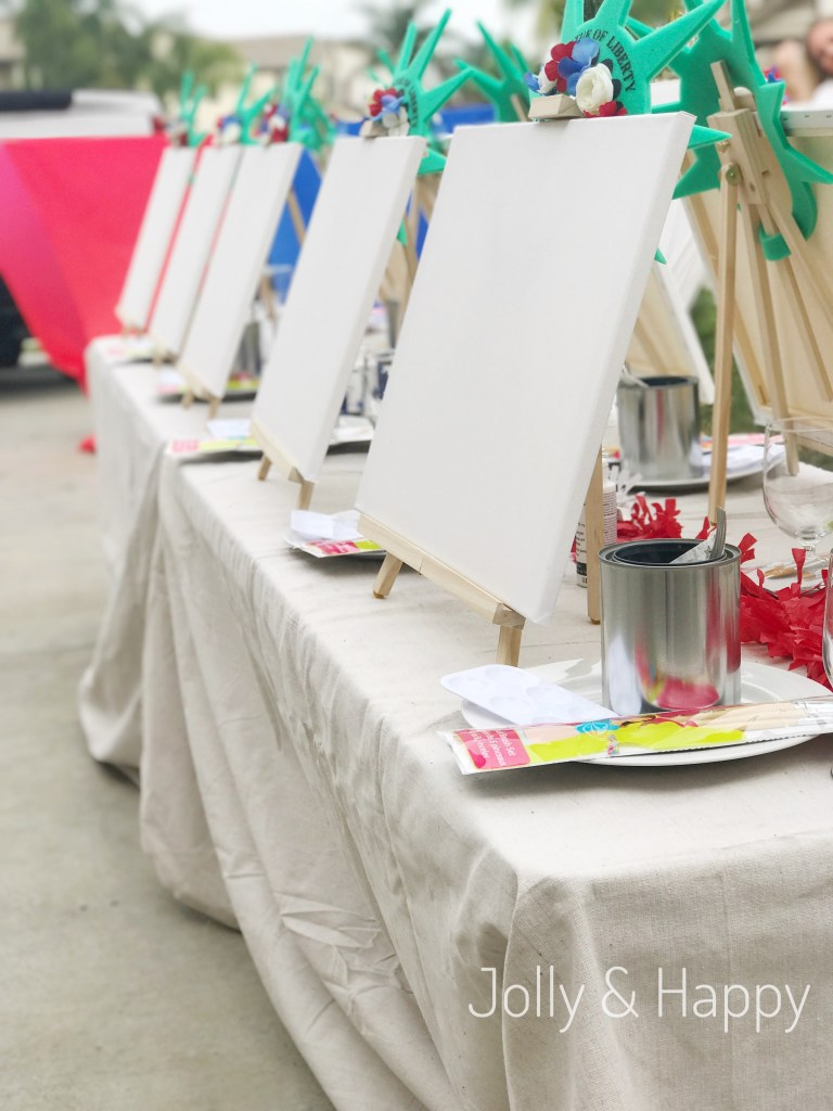 Paint Party with Social Artworking Jolly and Happy