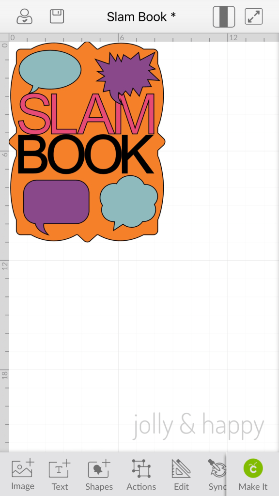 Back to School Slam Books with Cricut