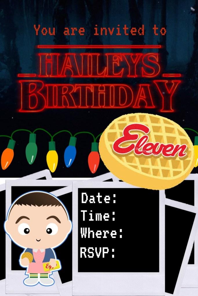 Stranger Things Birthday Party Jolly Happy