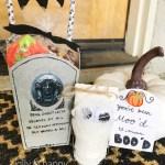 Haunted Mansion Tombstone Popcorn Box Challenge Blog Hop