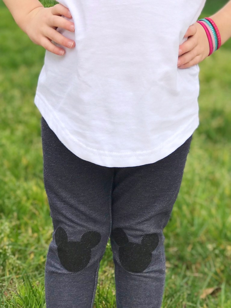 disney knee patches for leggings DIY