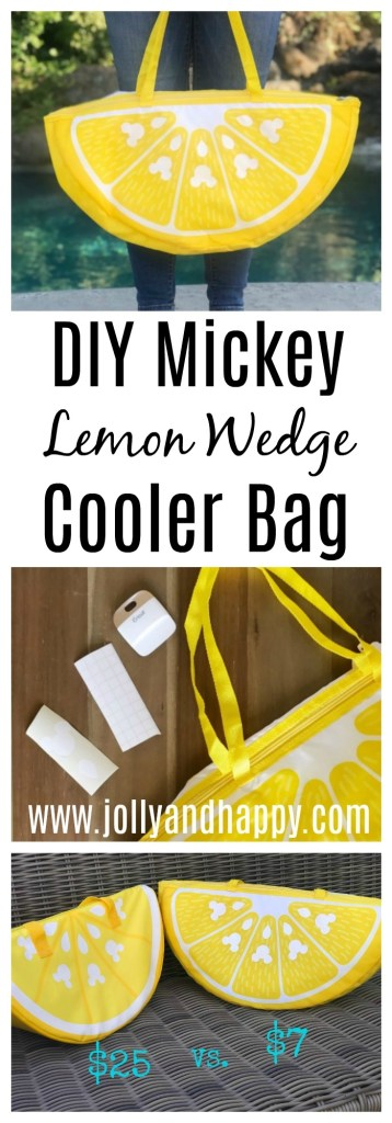 Diy Mickey Lemon Wedge Cooler Bag