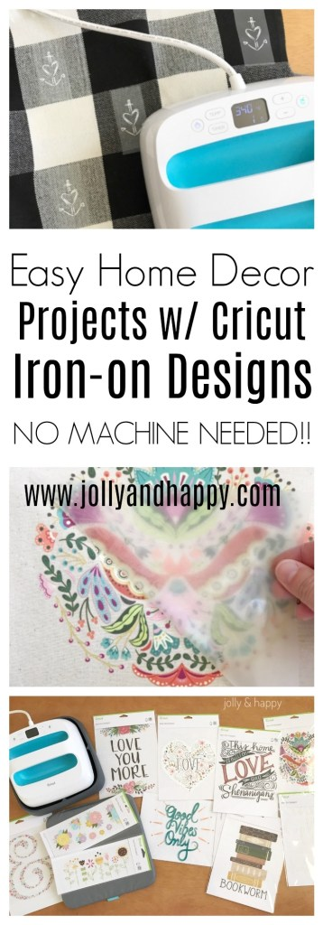 I Love How Cricut Iron On Designs Made These Projects Easy And Fast Which Design Are You Most Excited About What Planning To Apply It