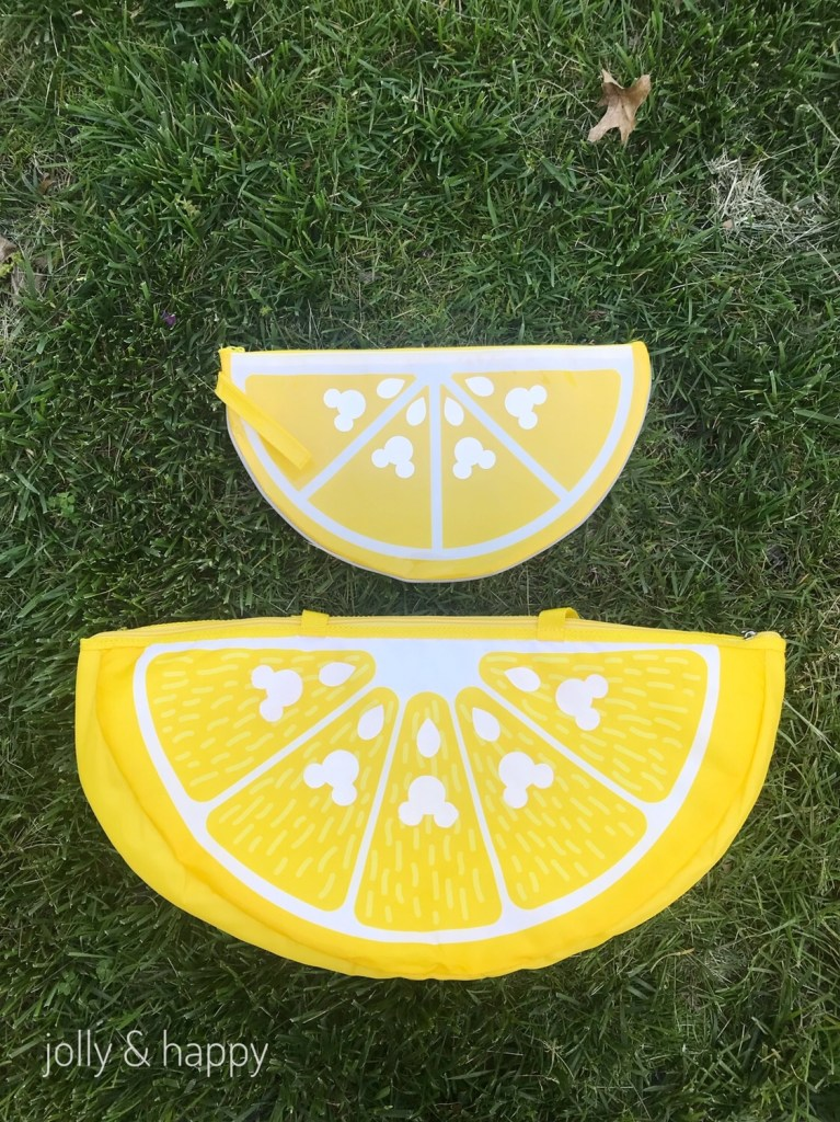 DIY Mickey lemon wedge bags for the summer